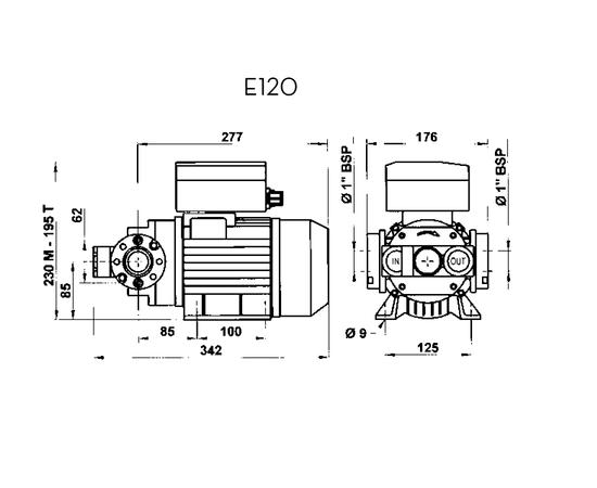 E-120 габариты