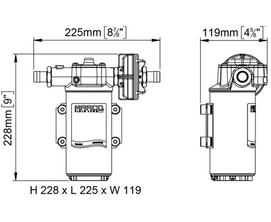 UP-14 размеры