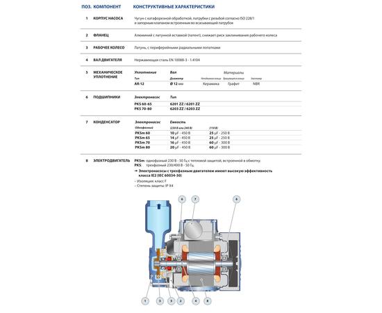 Технические характеристики PKS 80